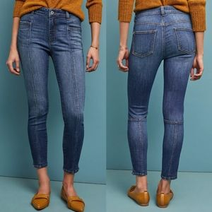 Anthropologie Pilcro High Rise Denim Leggings